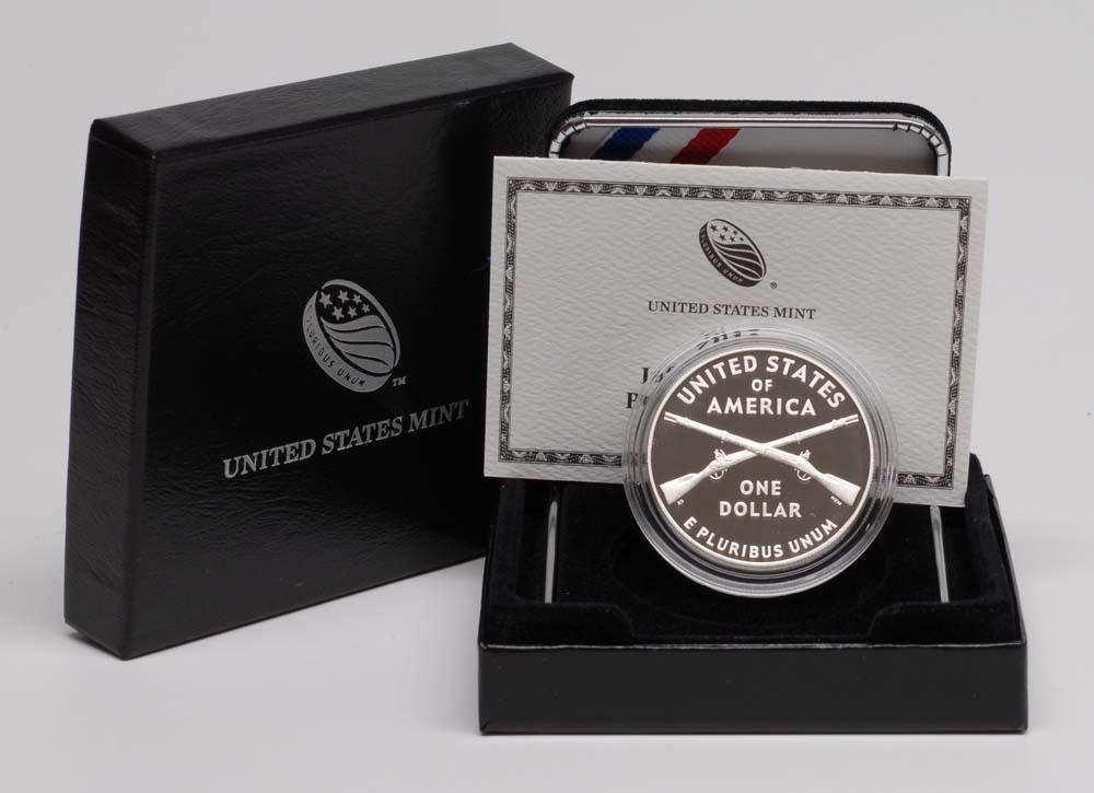USA : 1 Dollar Infanteriesoldat  2012 PP
