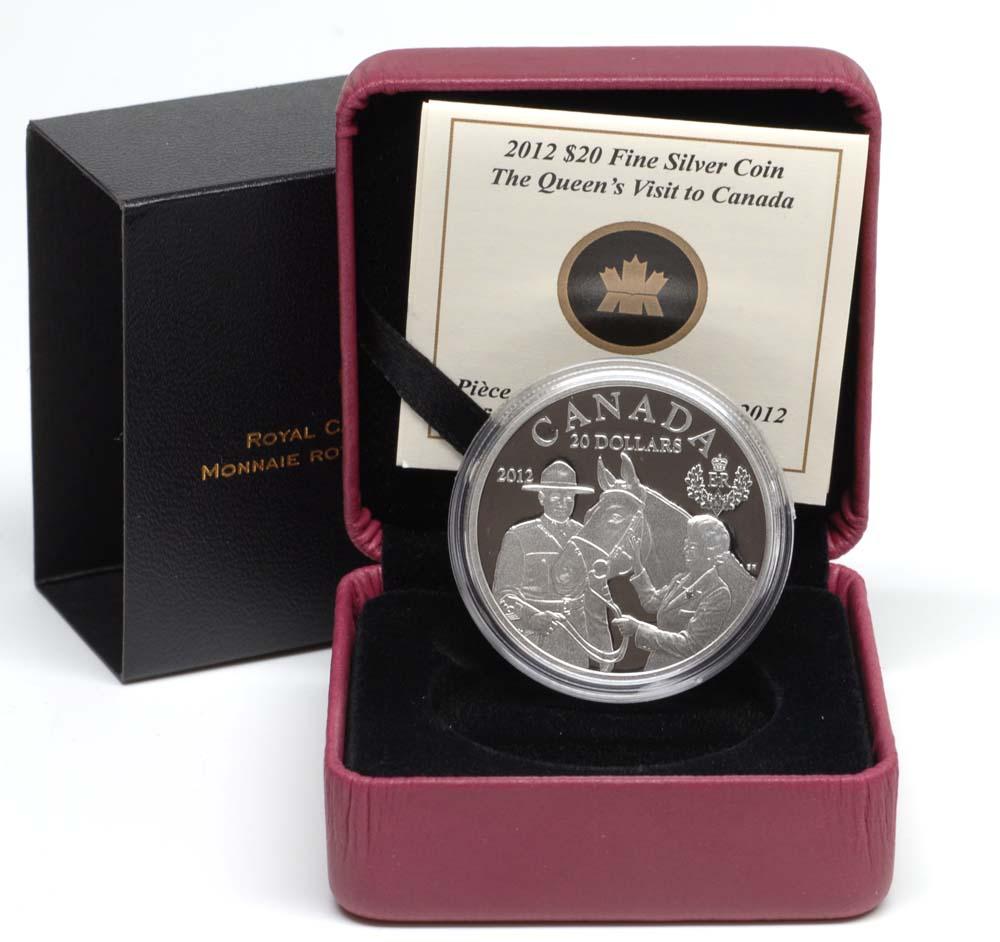 Kanada : 20 Dollar 60 J. Krönungsjubiläum - Königlicher Besuch  2012 PP
