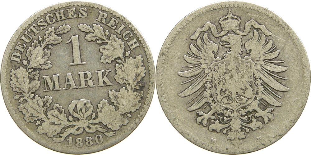 Deutschland : 1 Mark   1880 s.