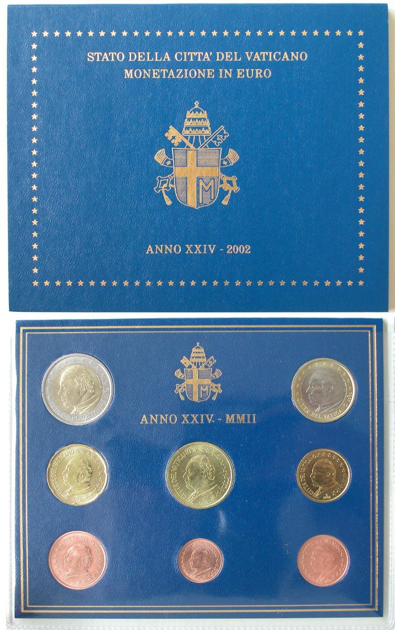 Lieferumfang:Vatikan : 3,88 Euro KMS Vatikan  2002 Stgl. KMS Vatikan 2002