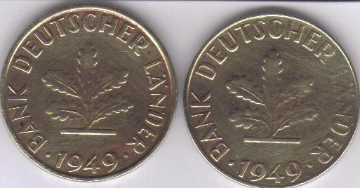Sehr Seltene Fehlprägung Der 10 Pfennig Münzen Gesucht