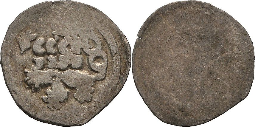 1458-1471 Pfennig einseitig Böhmen Kuttenberg.jpg