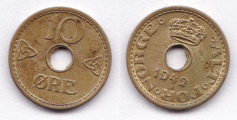 1942 Norwegen 10 Öre alliierte Ausgabe.jpg