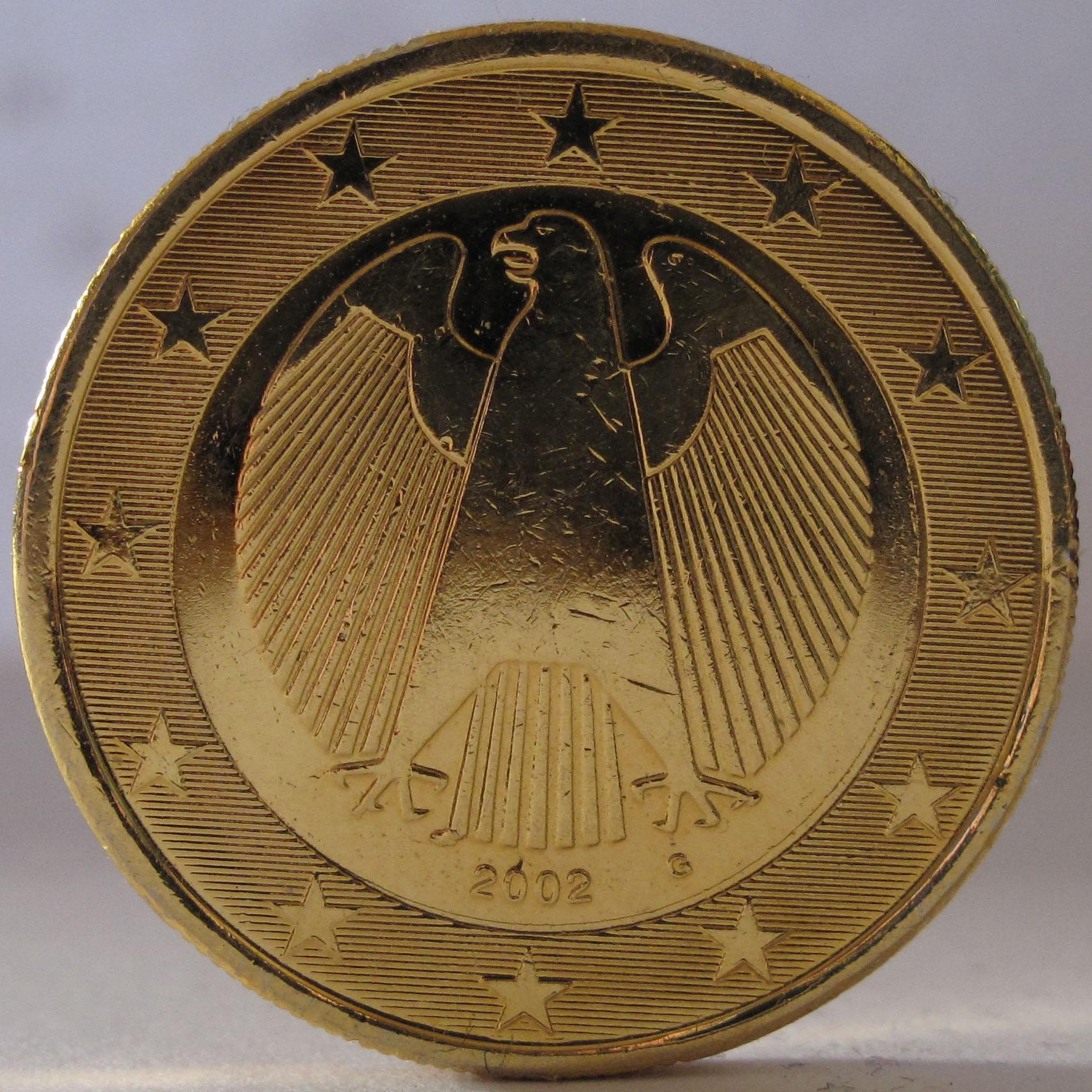 1 Euro Münze Gold