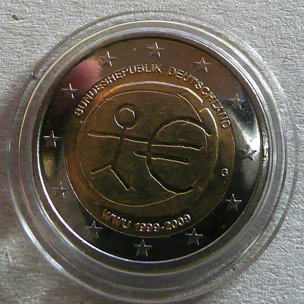 2 Euro Wwu Fehlprägung