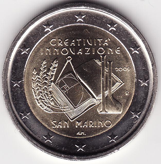 2009 71 San Marino Eur. Jahr Kreativität u. Innovation.jpg