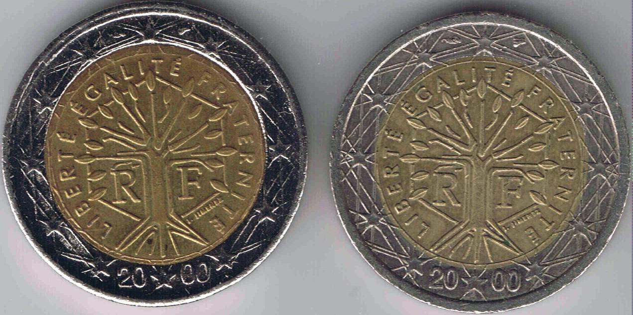 2 Euro Fehlprägung Nora Kdesign