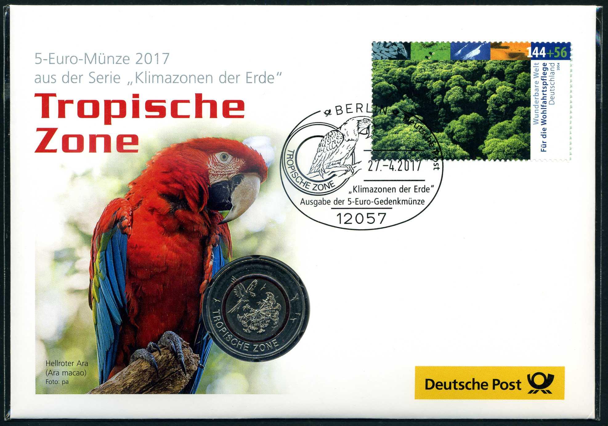 2017 Numisbrief 5 € Tropische Zone 1.jpg