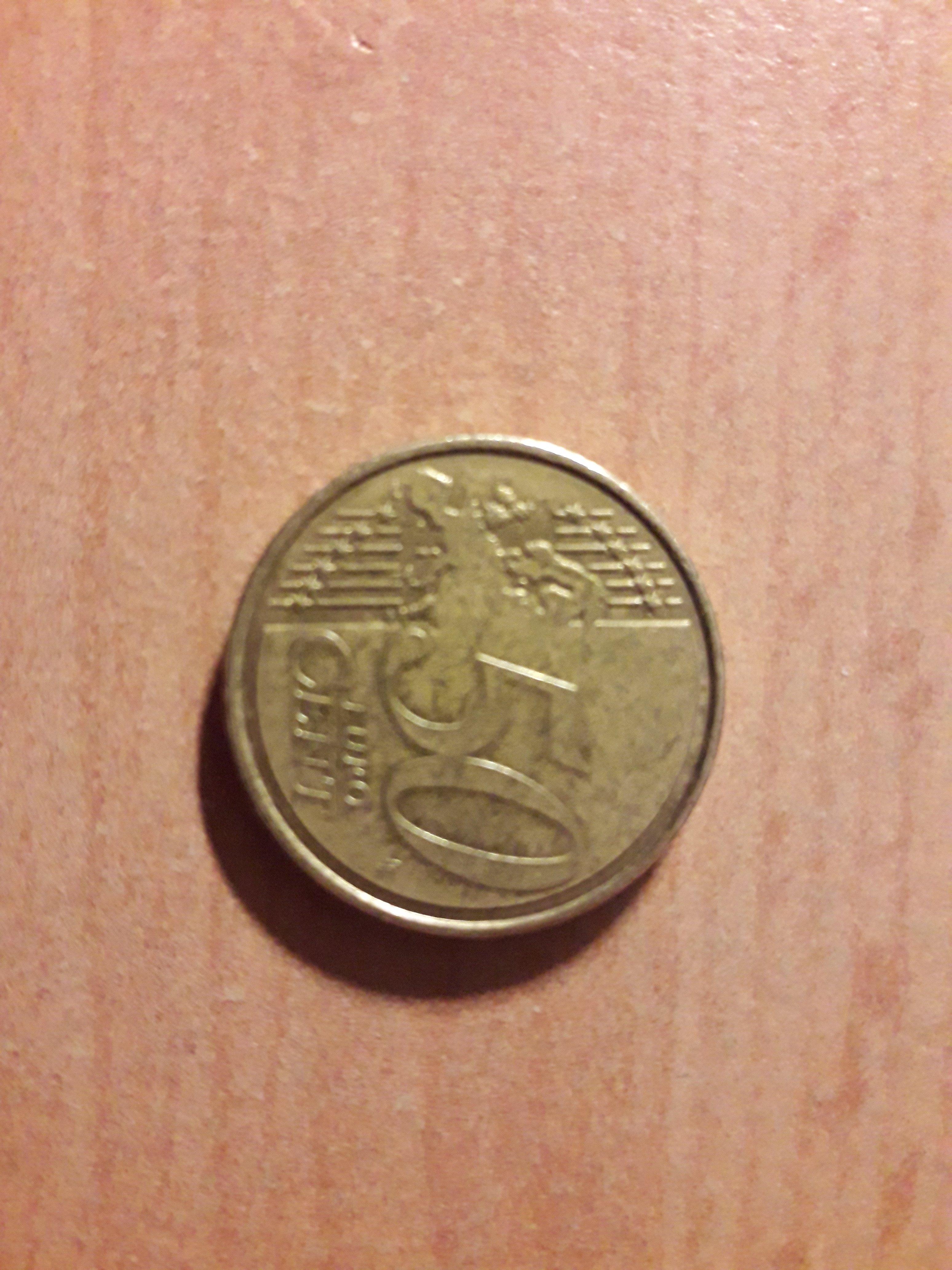 50 Cent Fehlprägung