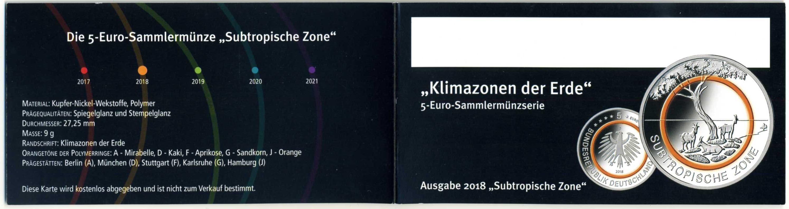 2018 DE 5 € Subtropische Zone Flyer 1.jpg