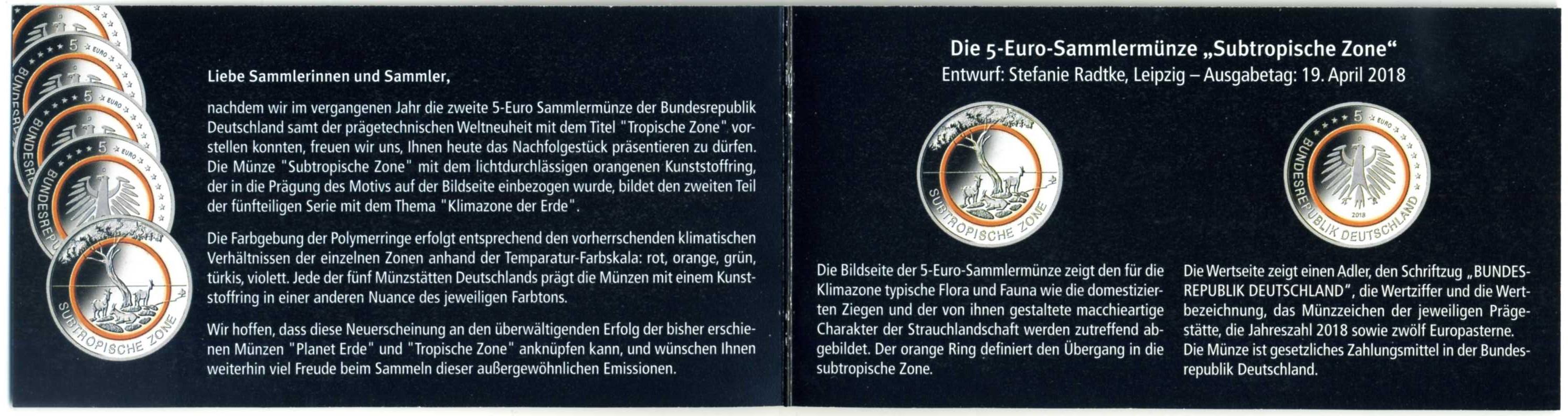 2018 DE 5 € Subtropische Zone Flyer 2.jpg