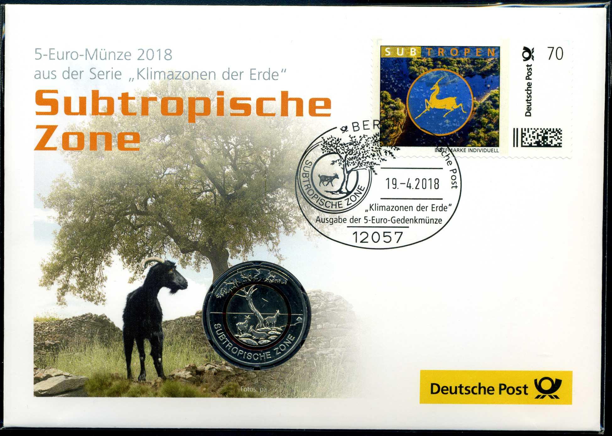 2018 Numisbrief 5 € Subtropische Zone 1.jpg