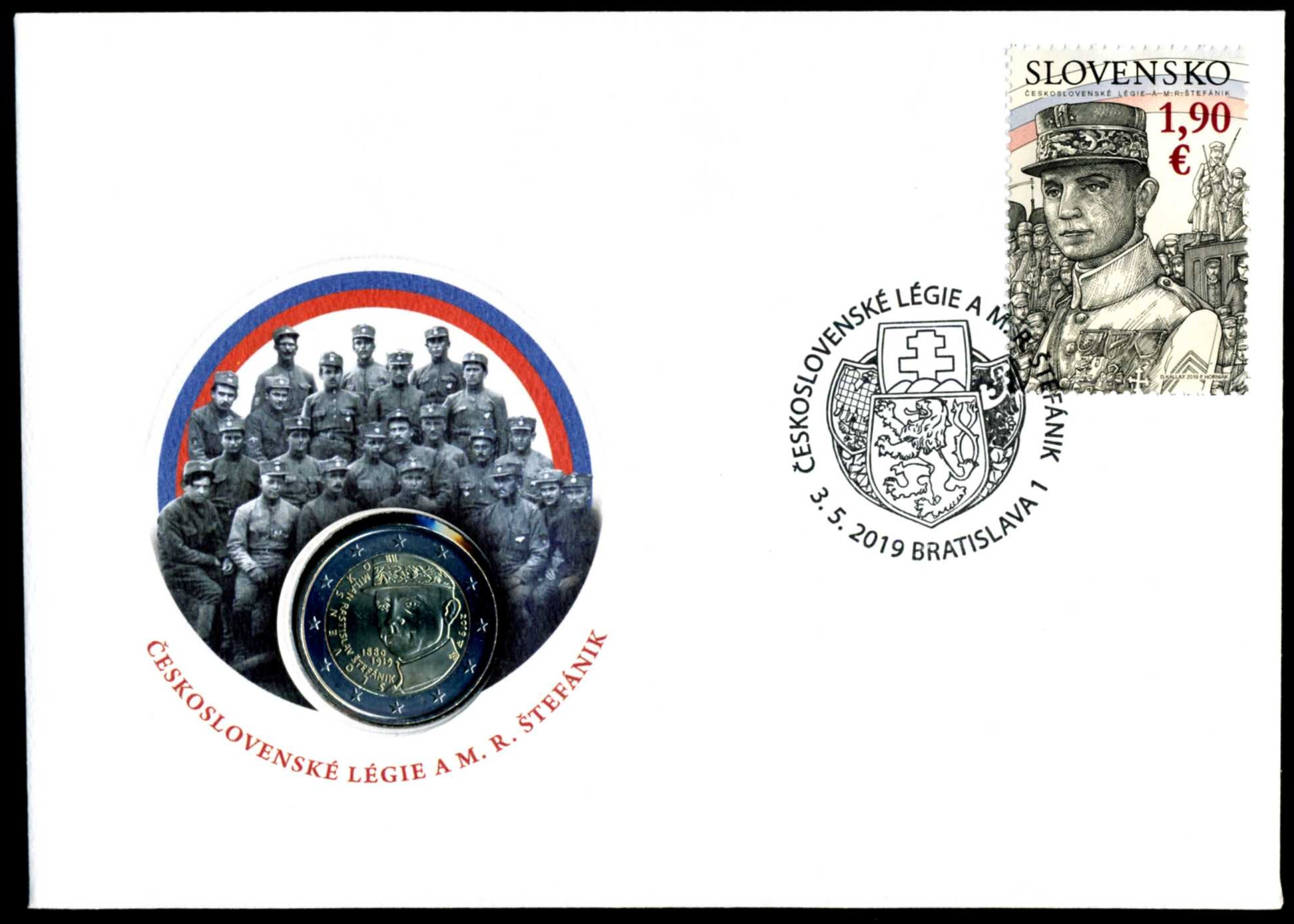2019 Slowakei Numisbrief Stefanik 1.jpg
