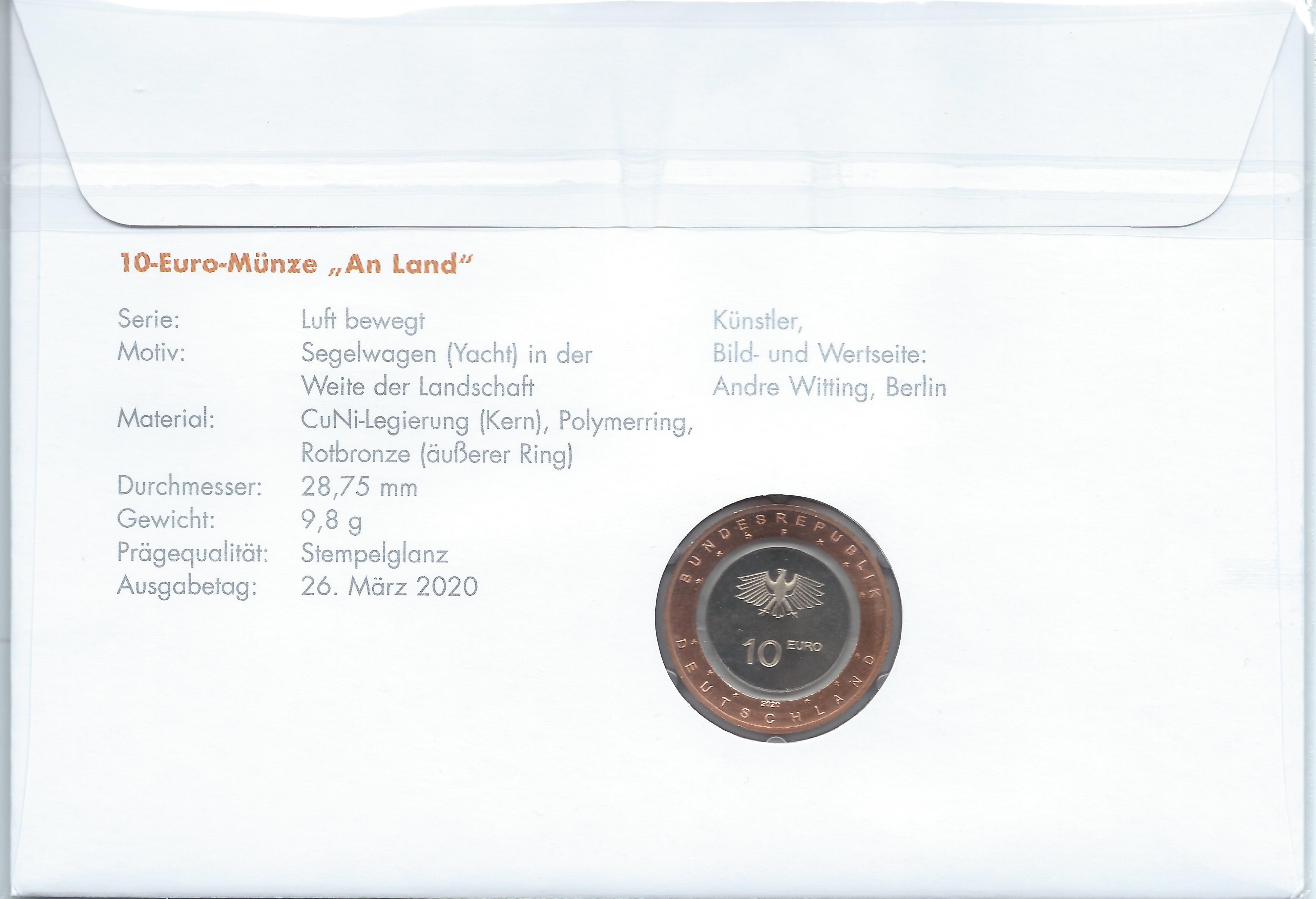 2020 Numisbrief 10 € An Land 2.jpg