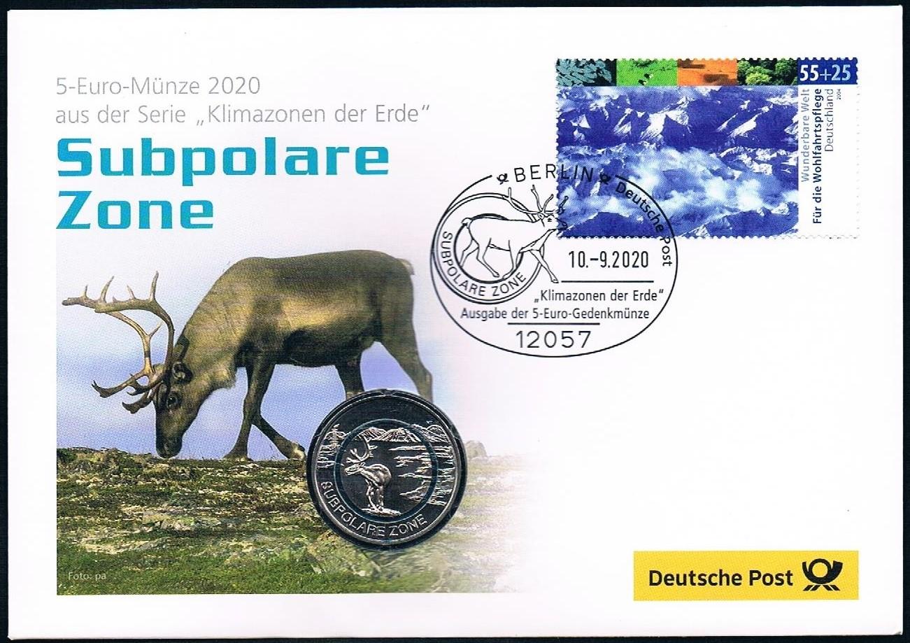 2020 Numisbrief 5 € Subpolare Zone 1.jpg