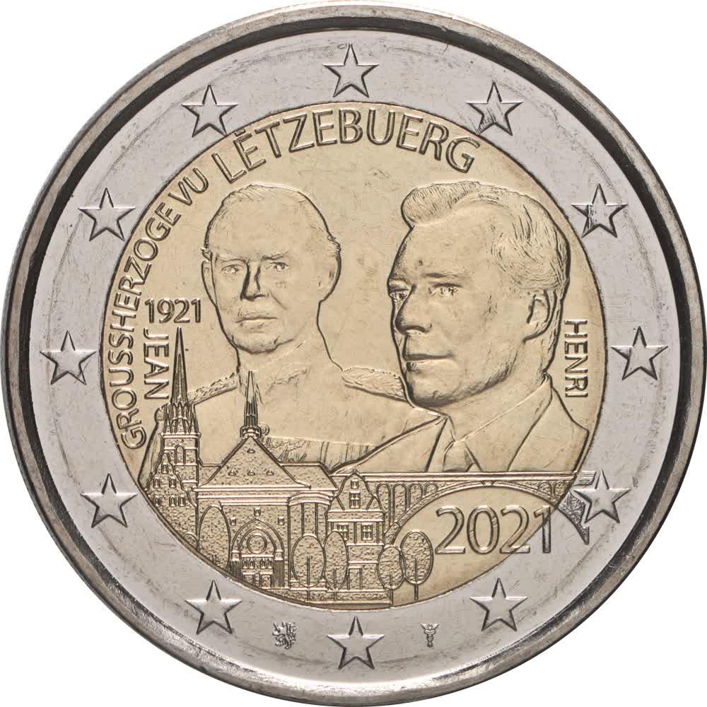 2021 406 Luxemburg 100. Geb. Jean - Relief.jpg