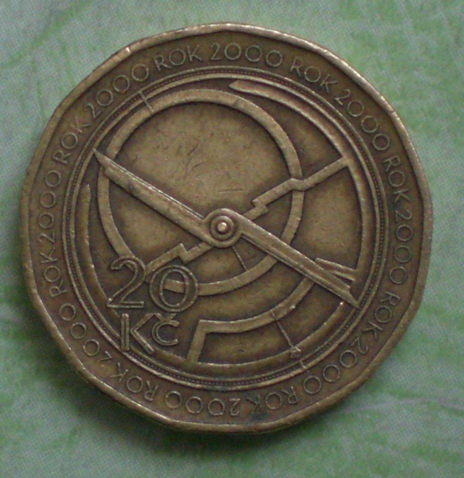 Tschechische Republik 20 Kronen Sondermünze