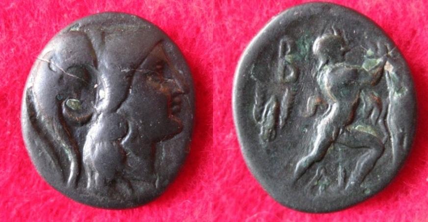 277-239 Antigonos Gonatas, AE-Tetrachalk. Cop 1209 (1).JPG