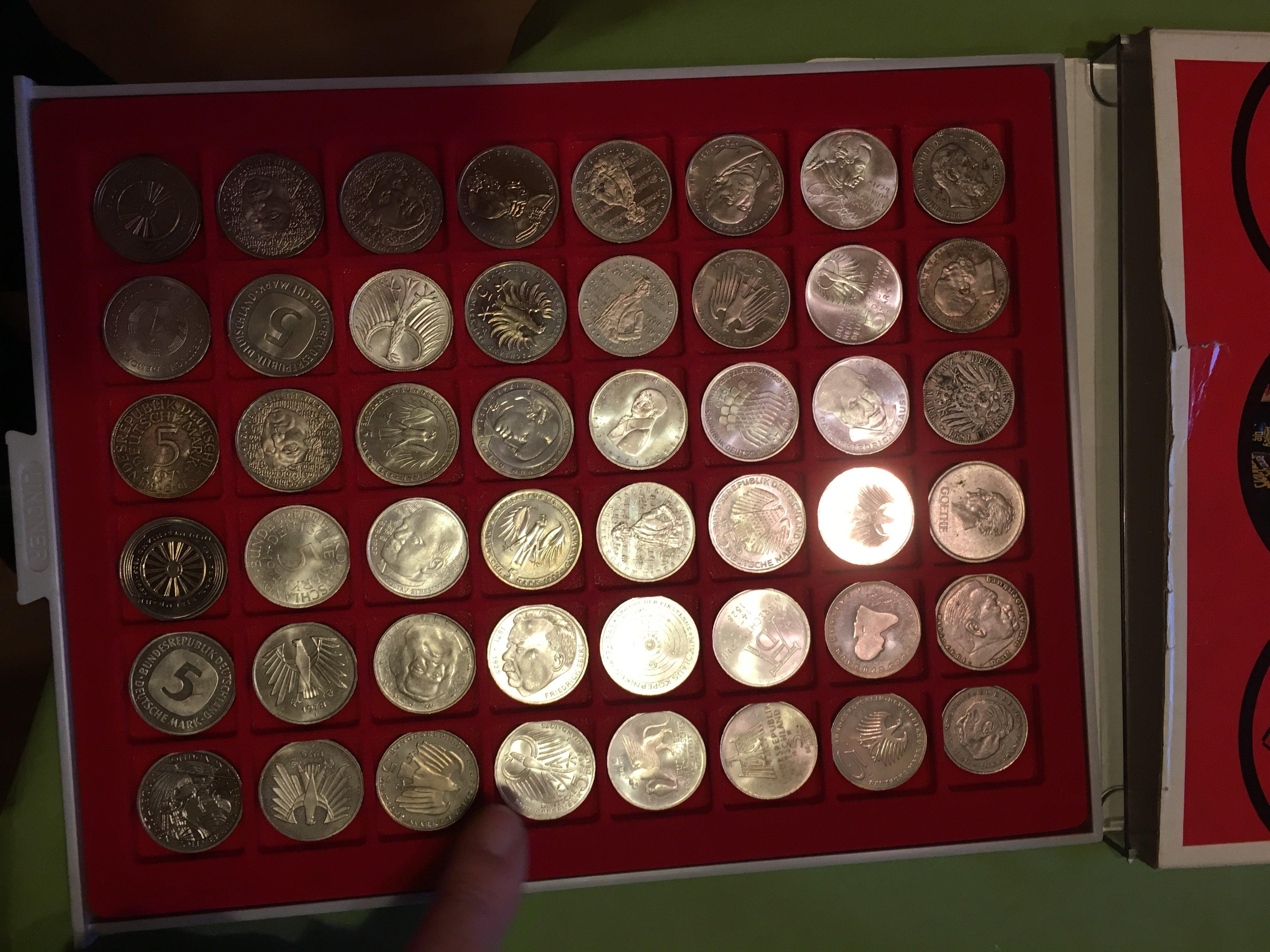 Wieviel Sind Diese Münzen Wert 5 Mark Münzen