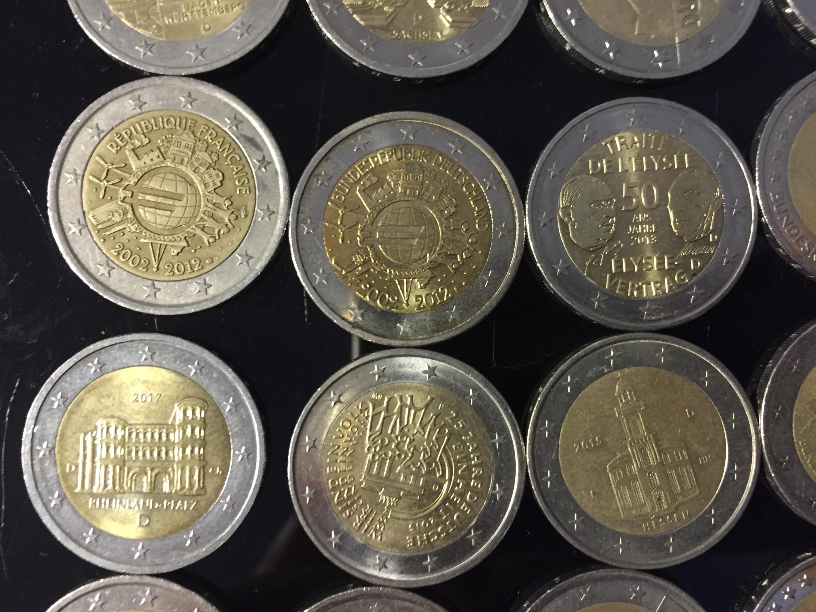 2 Euro Münzen Wert