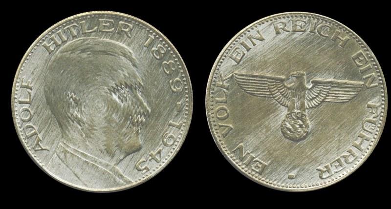 Reichsmark 1938 Mit Hitlerkopf Deutsches Münzenforum