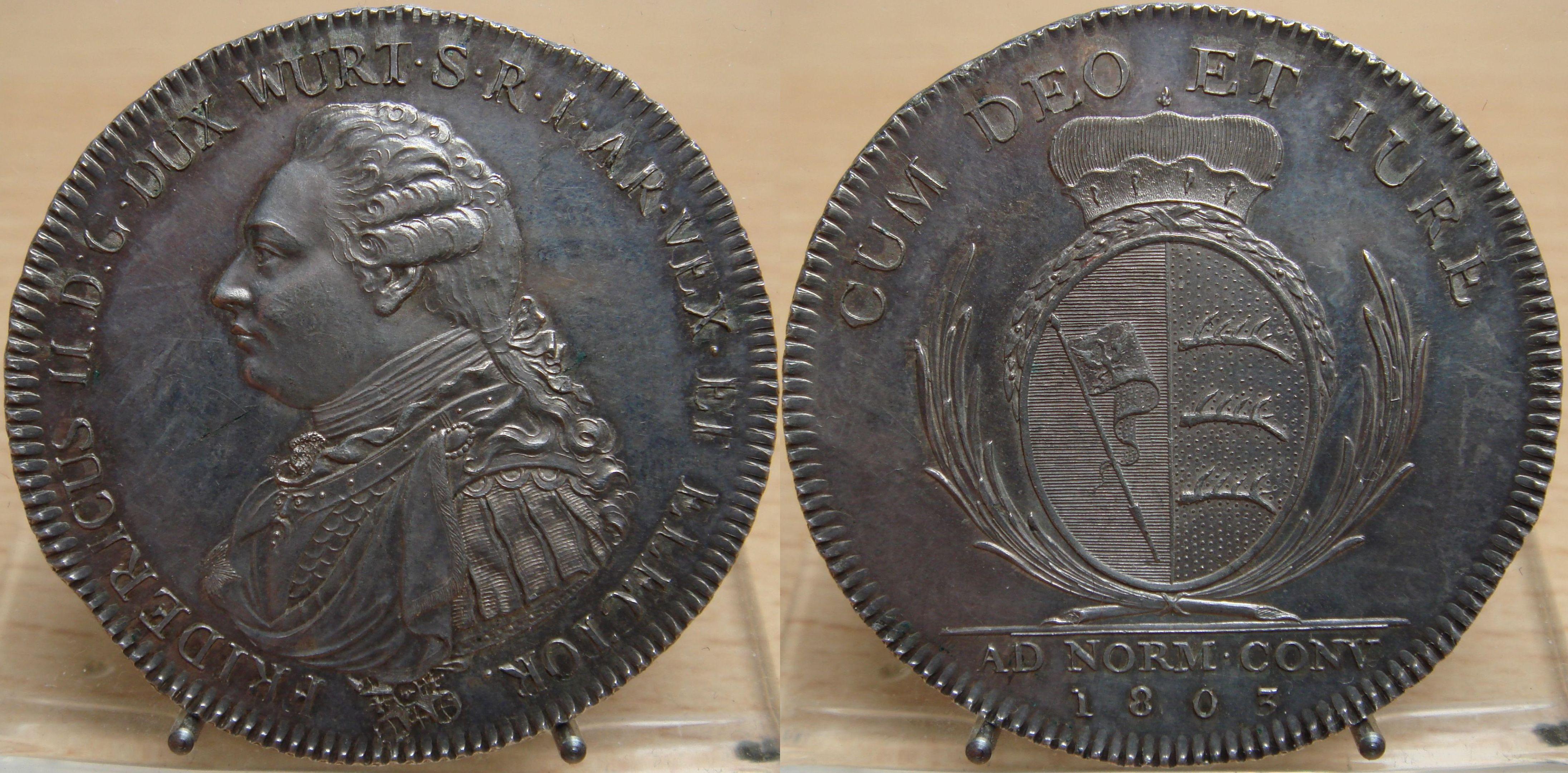 AKS 18 Konventionstaler Friedrich als Kurfürst 1803.JPG