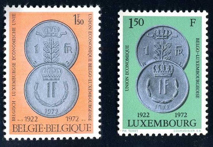 BE 009 1972 50 J. Belg.-Lux. Wirtschaftsunion.jpg