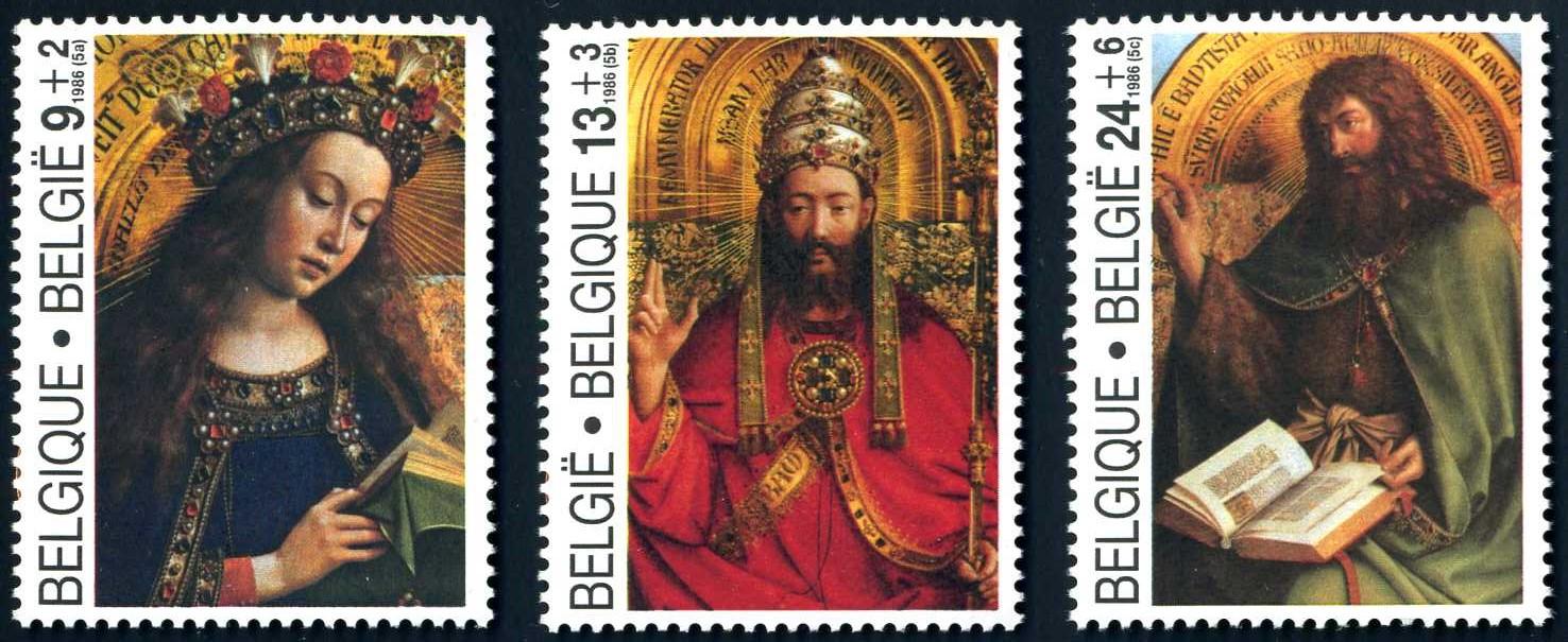 BE 386 1986 van Eyck Altar 1.jpg
