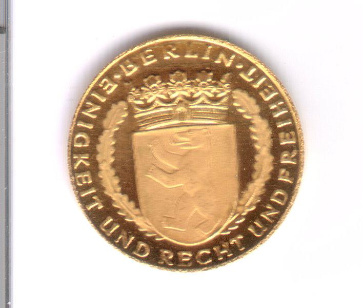 Kennt Jemand Den Wert Für Eine Münze Berliner Dukaten
