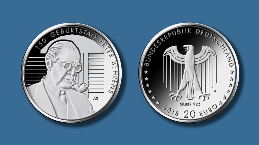BRD 2018A Euro020 Peter Behrens de.jpg
