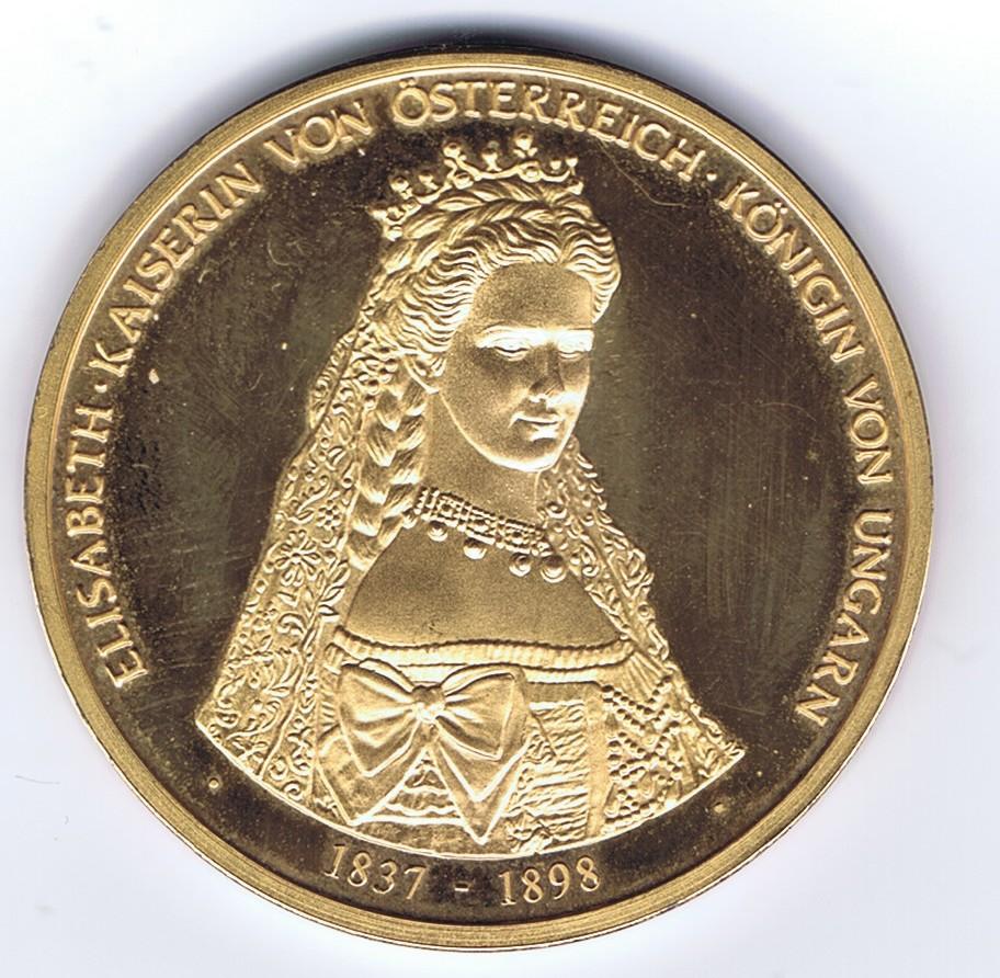 Wer Kennt Diese Medaille Kaiserin Von österreich