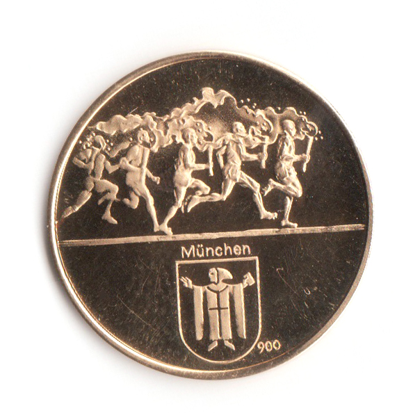 Olympia München 1972 Goldmedaille 900