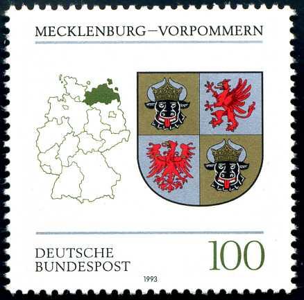DE 023 1993 Wappen Mecklenburg-Vorpommern.jpg