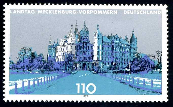 DE 023 1999 Landtag Mecklenburg-Vorpommern.jpg