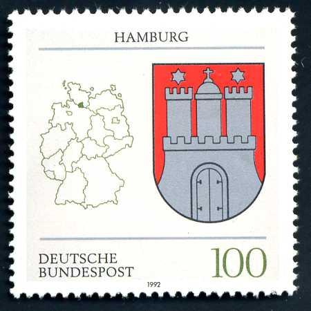 DE 042 1992 Wappen Hamburg.jpg