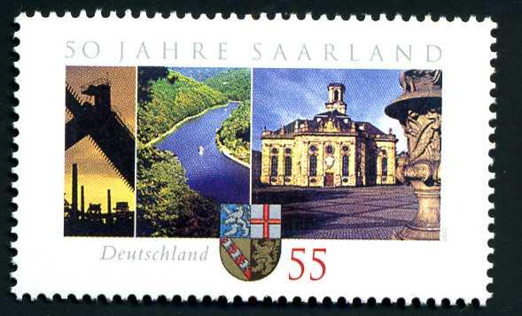DE 069 2007 Bundesland Saarland.jpg