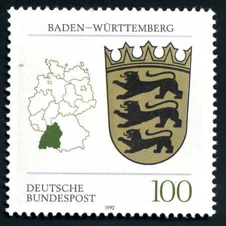 DE 137 1992 Wappen Baden-Württemberg.jpg