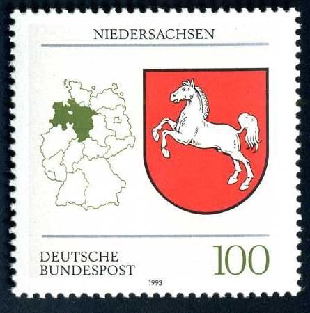 DE 159 1993 Wappen Niedersachsen.jpg