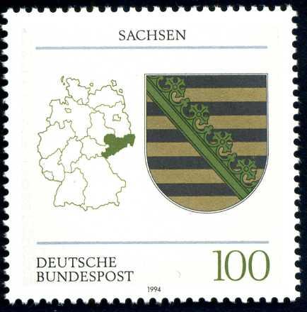 DE 235 1994 Wappen Sachsen.jpg