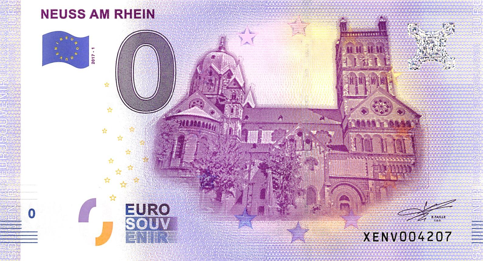 Deutschland 0-Euro Schein 2017-1 NEUSS AM RHEIN - 1.jpeg