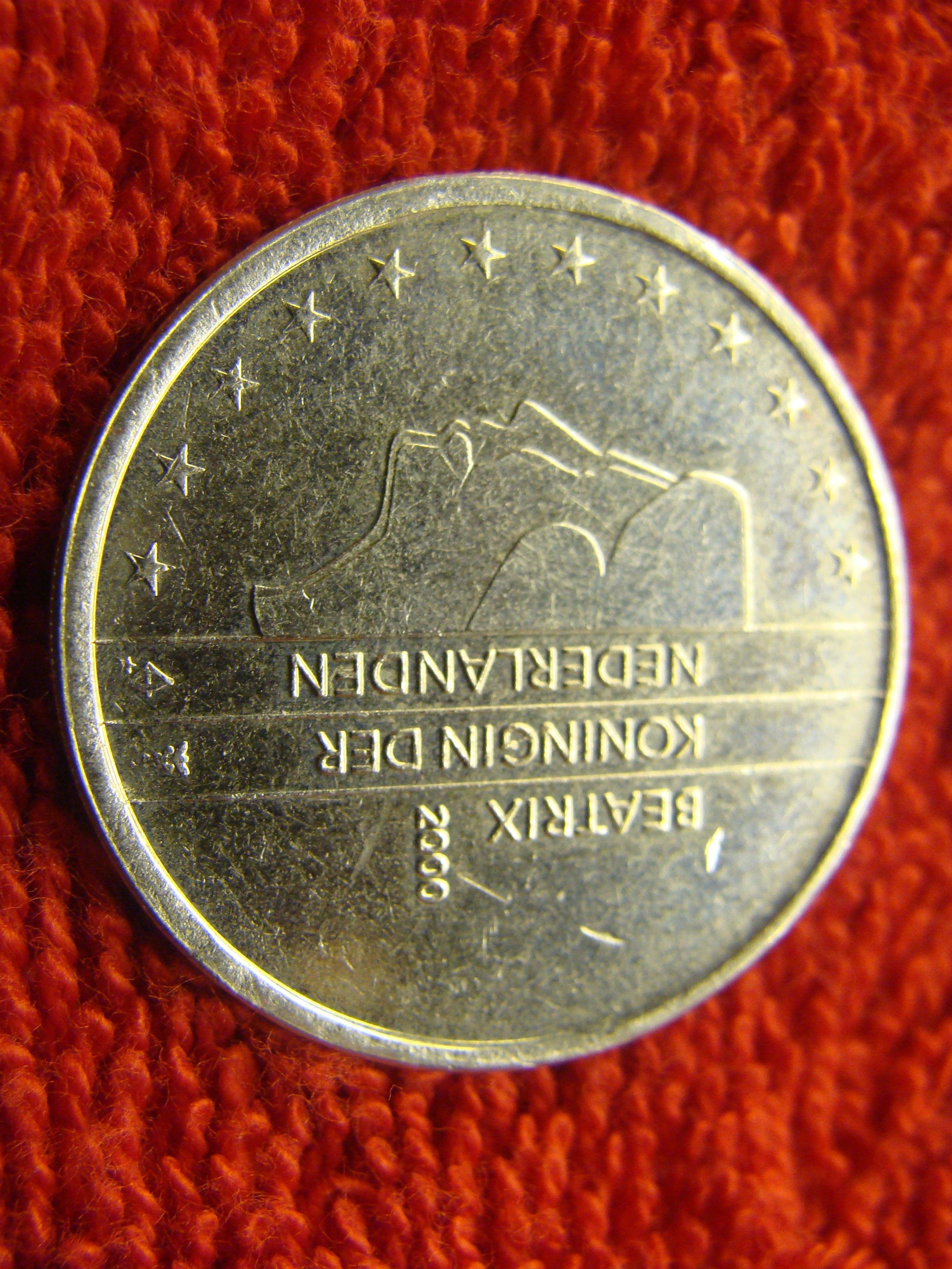 2x Seltene Fehlprägung 2 Euro Niederlande