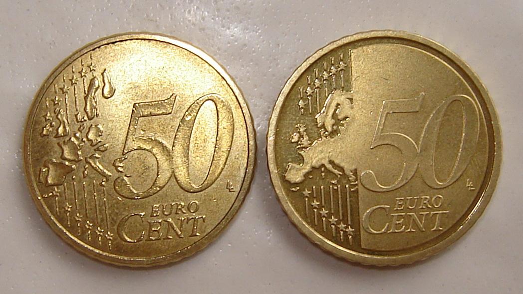 Fehlprägung Bei Deutscher 50 Cent 2007 G Münze