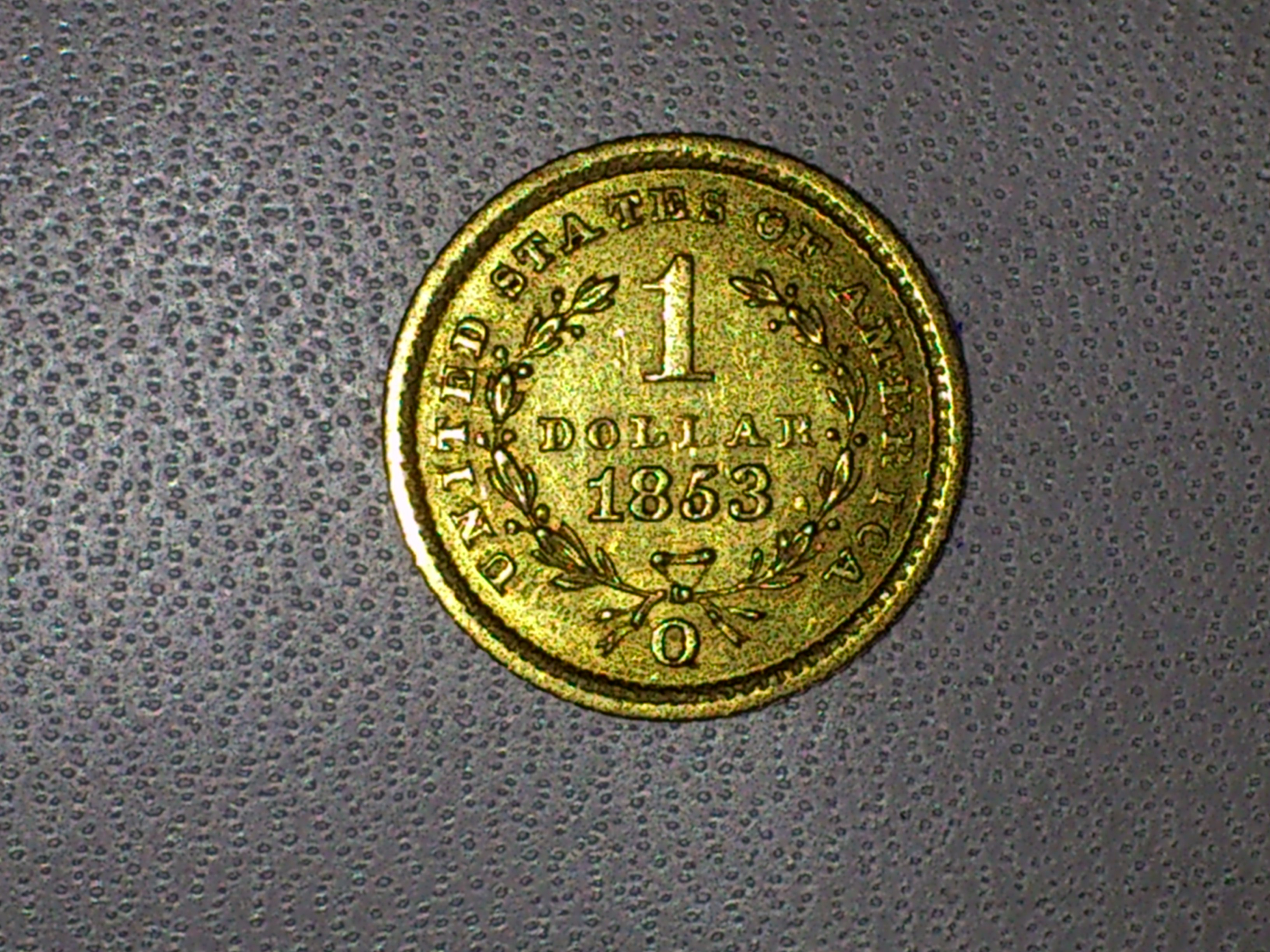 1 Dollar Münze Usa 1853 Gefunden
