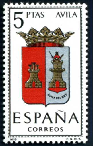 ES 355 1962 Stadtwappen Avila.jpg