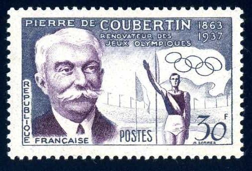 FR 142 1956 Coubertin.jpg