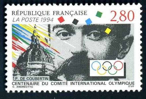 FR 142 1994 Coubertin.jpg