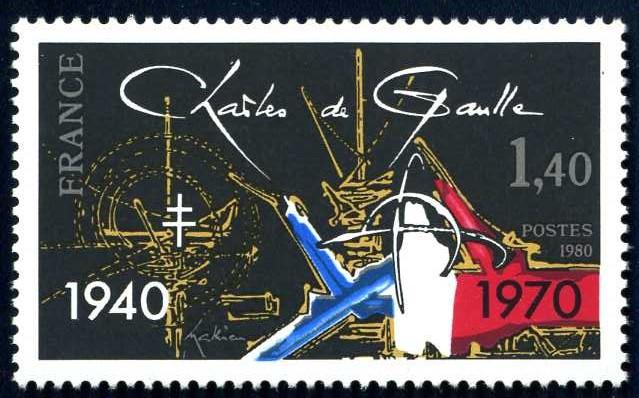 FR 367 1980 de Gaulle 1940 1970.jpg