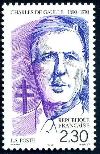 FR 367 1990 de Gaulle.jpg