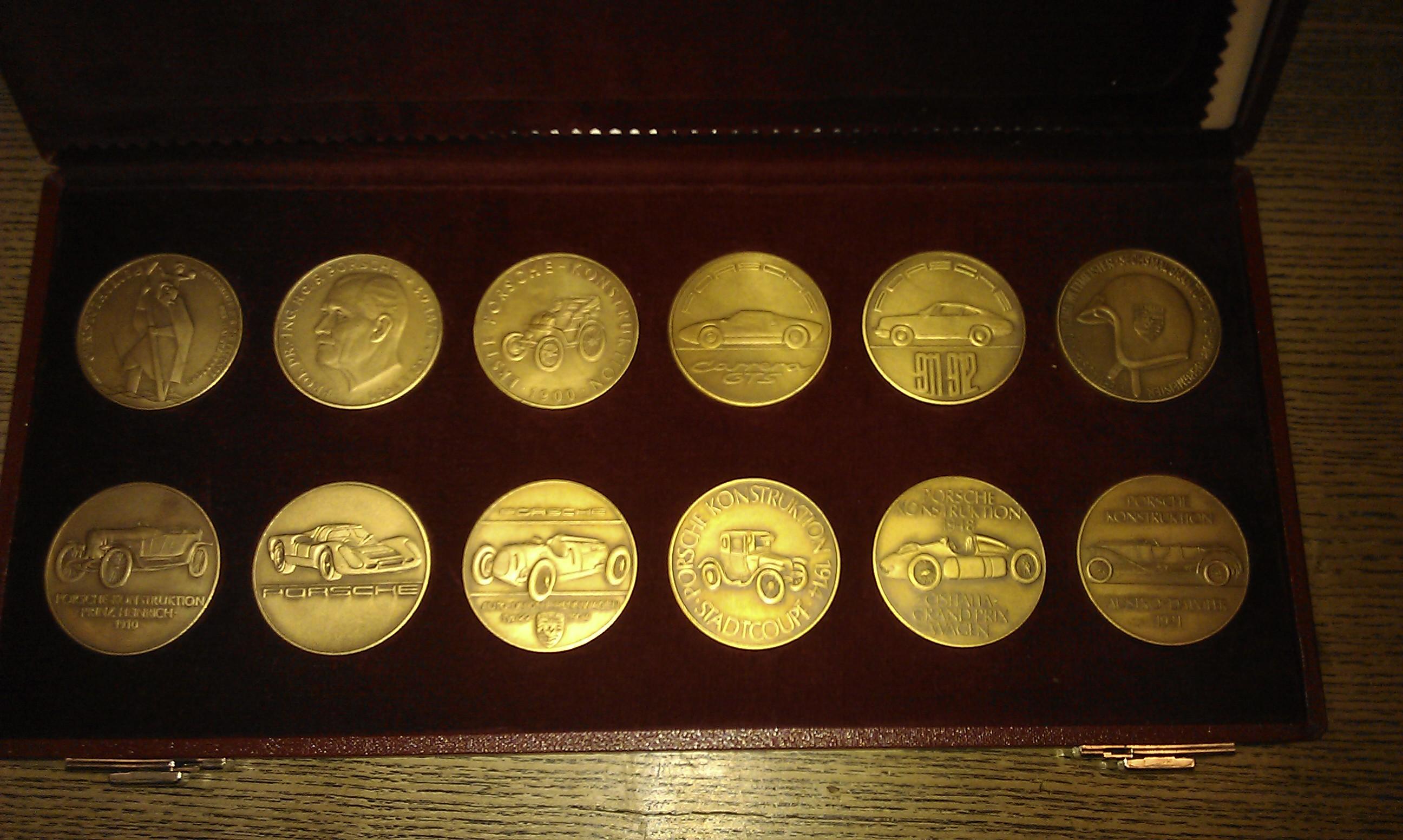 Wert Von Porsche Kalender Medaillen