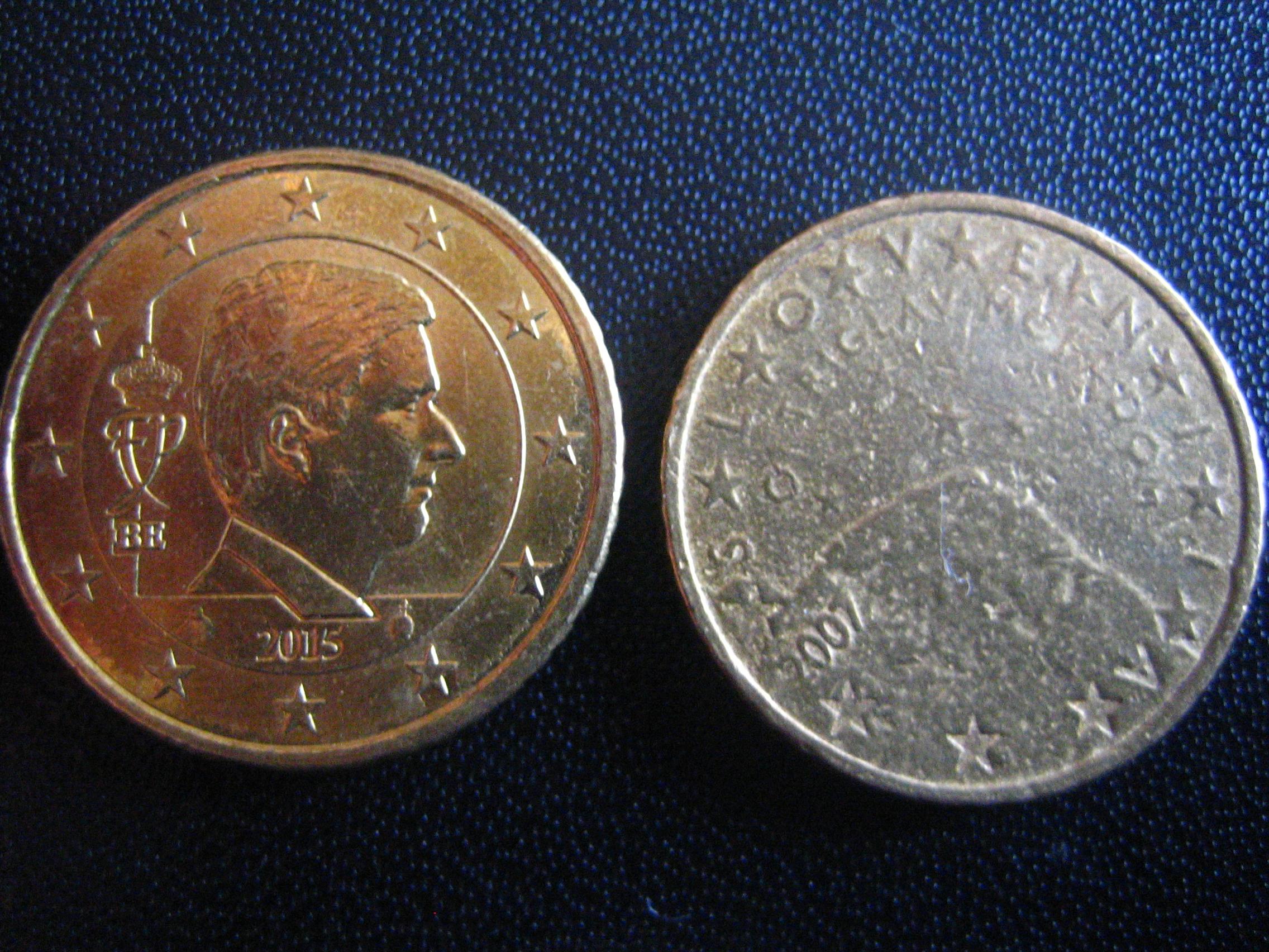 50 Cent Münze Fälschung